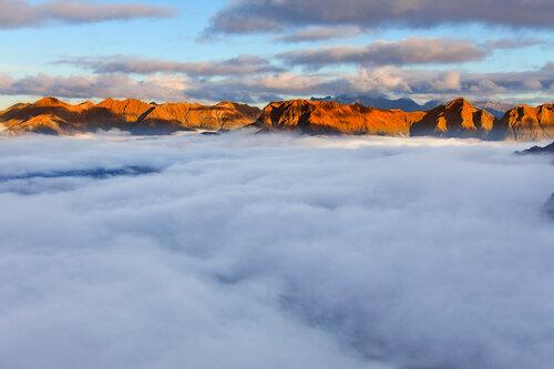 Ковёр из облаков
