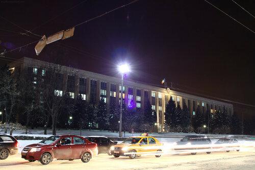 """В центре Кишинёва власти """"отменили"""" празднование Нового года"""