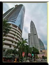 Малайзия. Detail of Kuala Lumpur, Capital of Malaysia. Фото jovannig  - Depositphotos