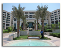 ОАЭ. Абу Даби. The St. Regis Saadiyat Island Resort Abu Dhabi. Main Entrance