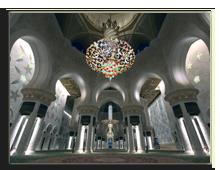 ОАЭ. Абу Даби. Мечеть шейха Заеда. Фото Thamer Altassan - shutterstock