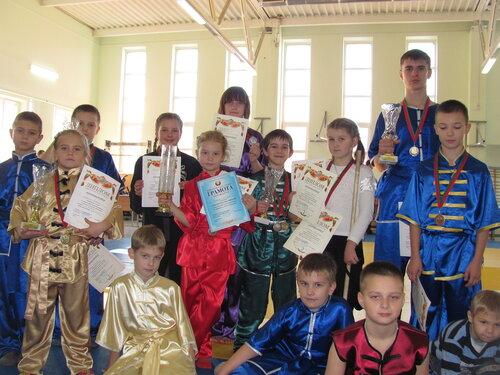брестская команда ушу на кикбоксинге в Минске