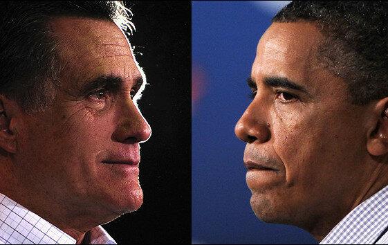 Обама vs Ромни