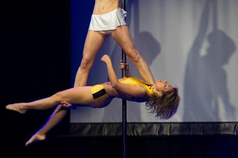 Россиянки и украинки - лучшие танцовщицы на шесте