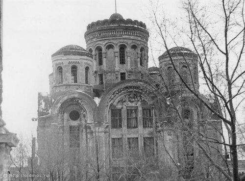 Собор Спаса Преображения Николо-Угрешского монастыря.