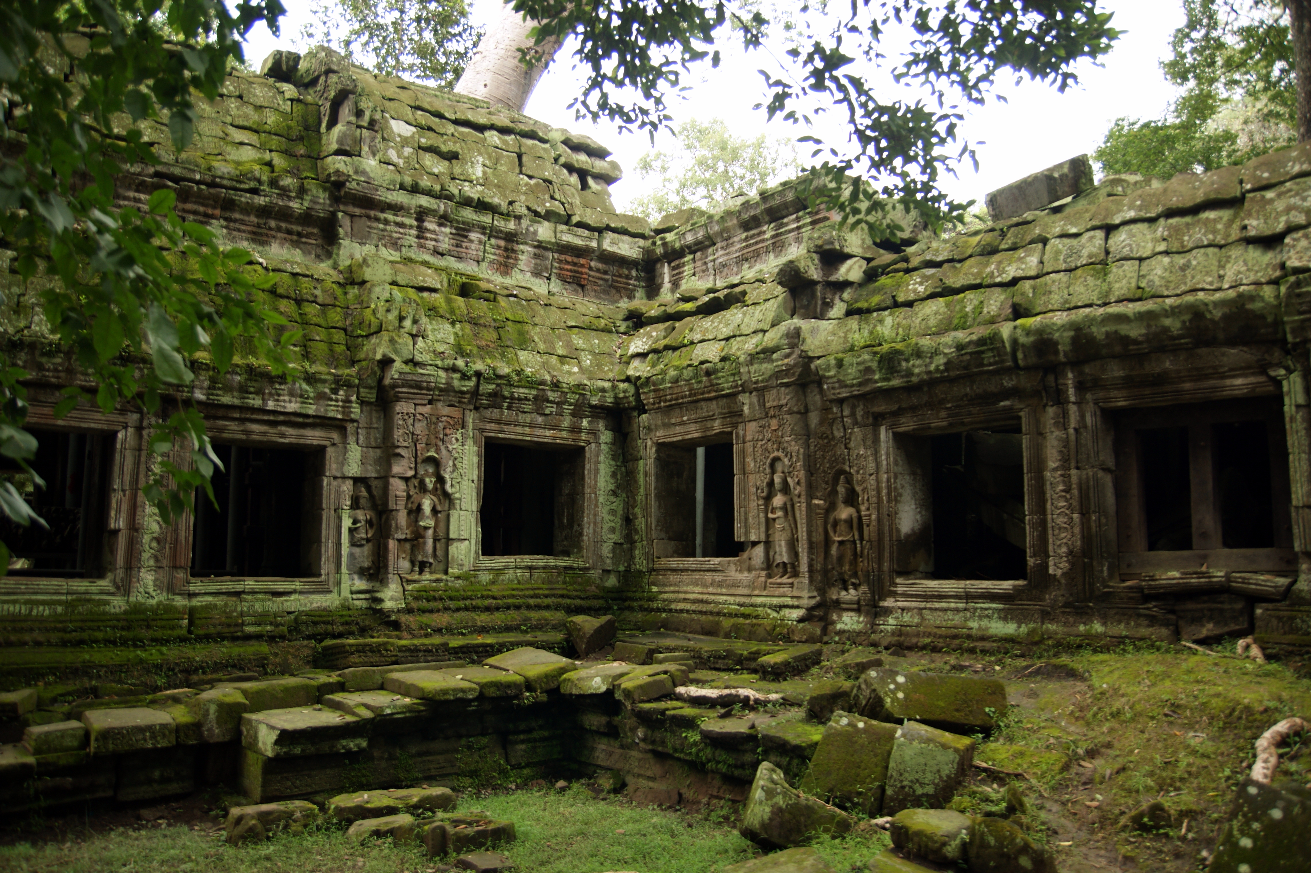 Храмы Камбоджи Та Пром Ta Prohm Мастерок жж рф