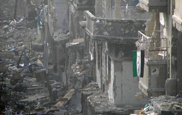Хомс. Алеппо. Сирия