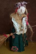 Баба Яга, мастер-класс по созданию куклы - Тридевятое Царство