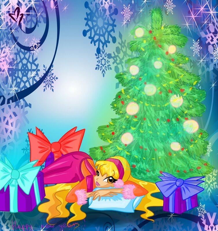 Игра Певучие коты +картинки винкс новогодние