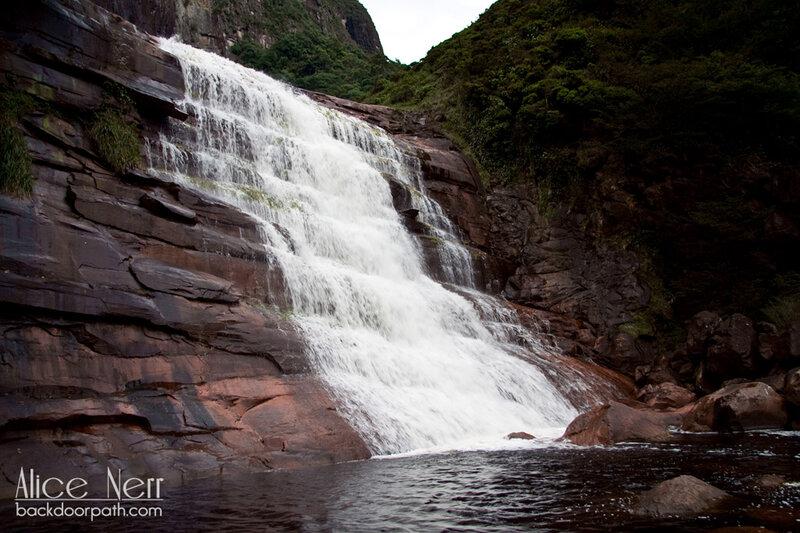 Водопад под Анхелем для купания