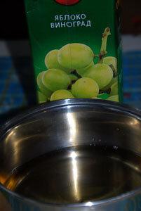 Продукты для безалкогольного глинтвейна