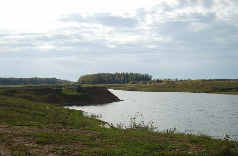 Лызлово, озера