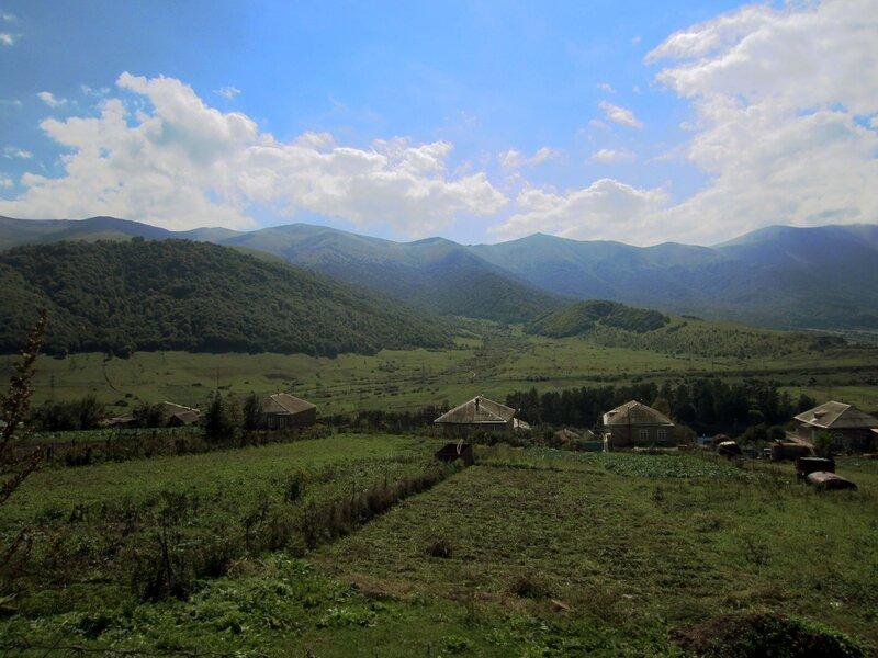 село Фиолетово, деревня