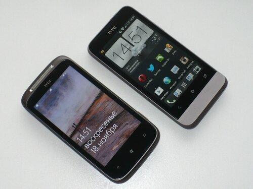 Сравнение с HTC Mozart