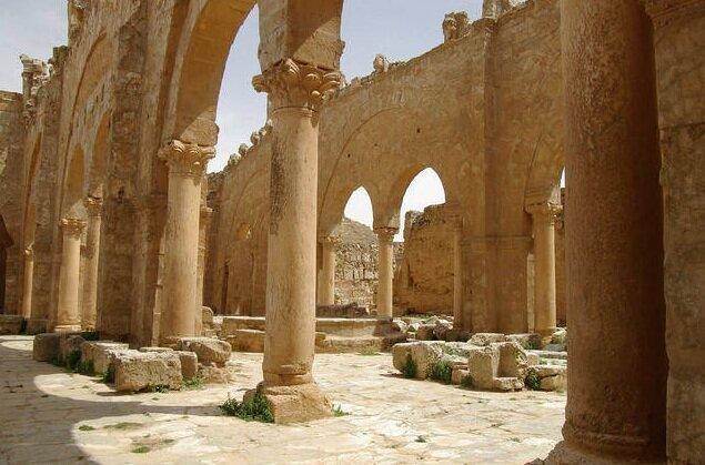 Сергиополь, город - призрак в сирийской пустыне.