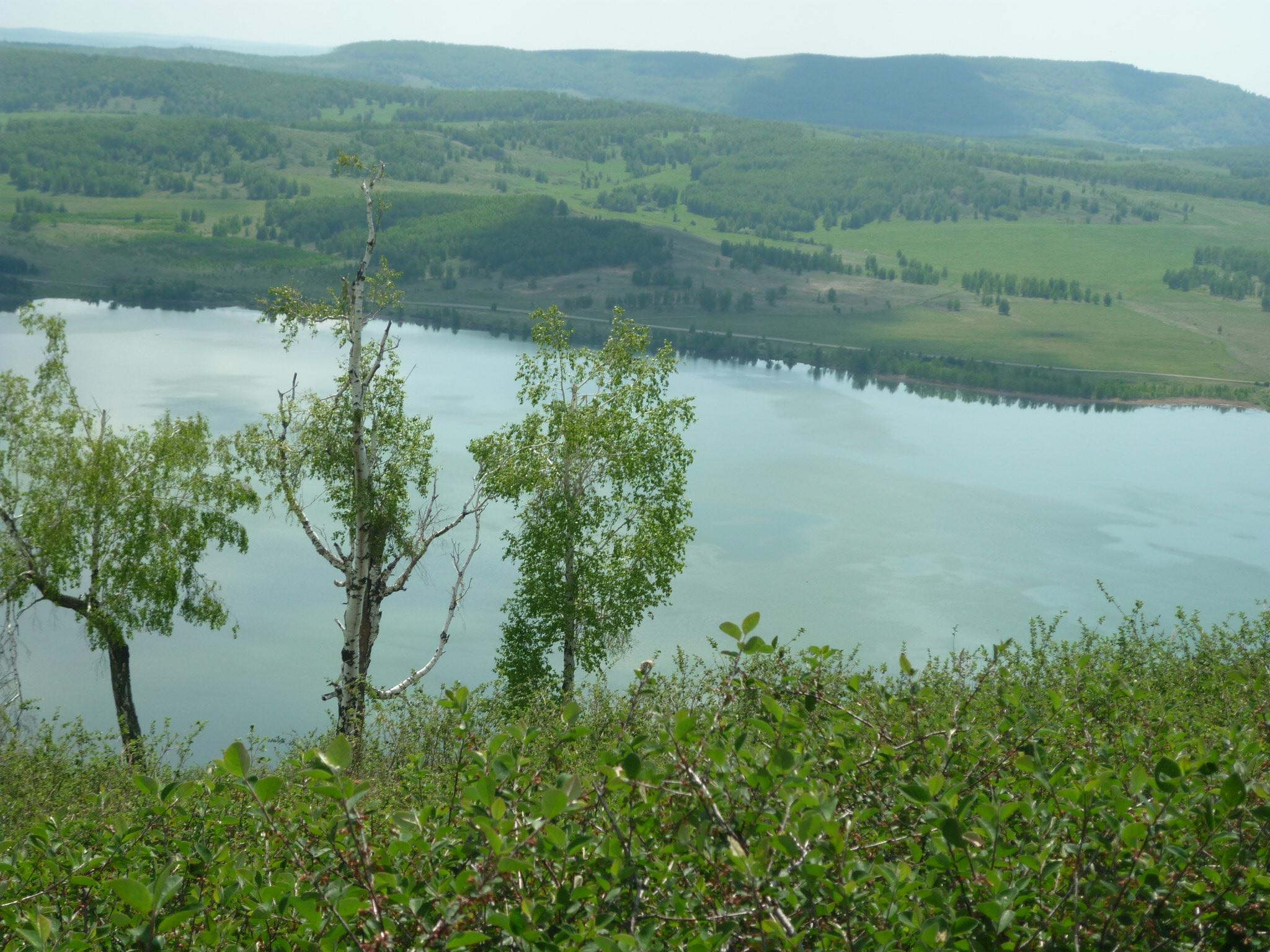 Вид на Аушкуль с горы (03.07.2015)