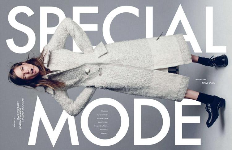 Касия Страсс (Kasia Struss) в журнале Elle France