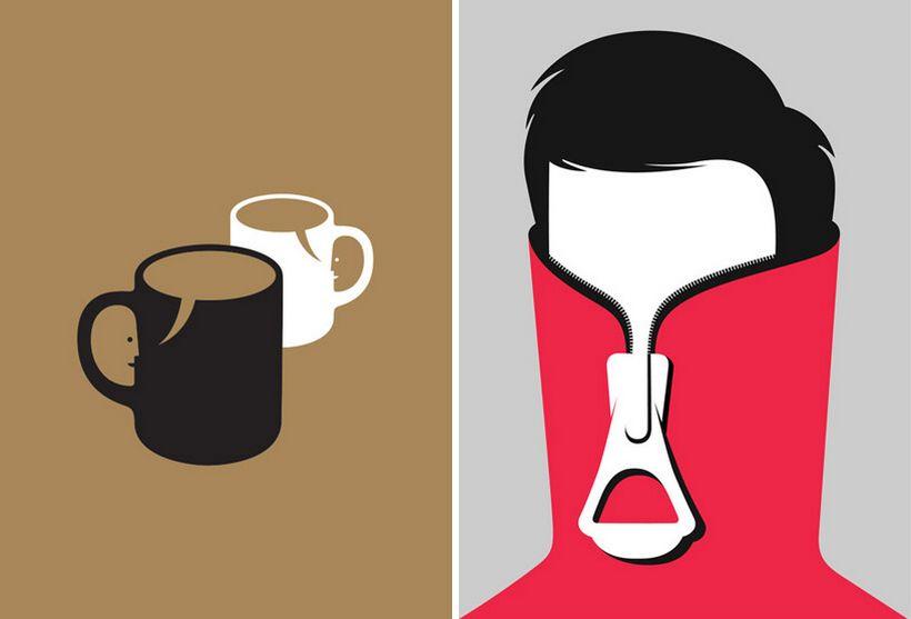 Иллюстрации со смыслом Нома Бар