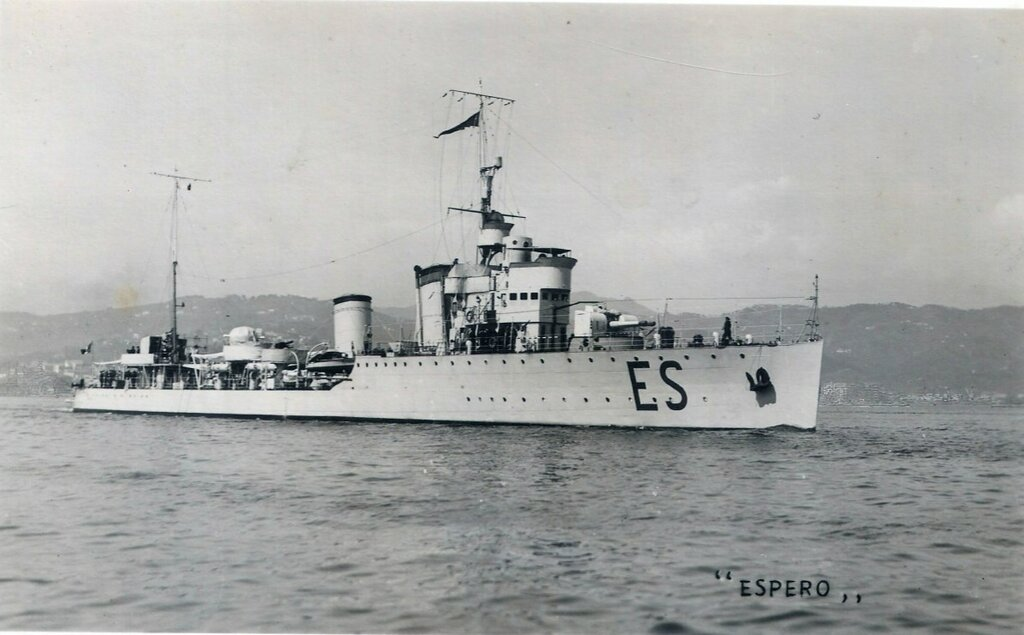 Destroyer Espero, classe Turbine