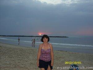 Закат в Нетании