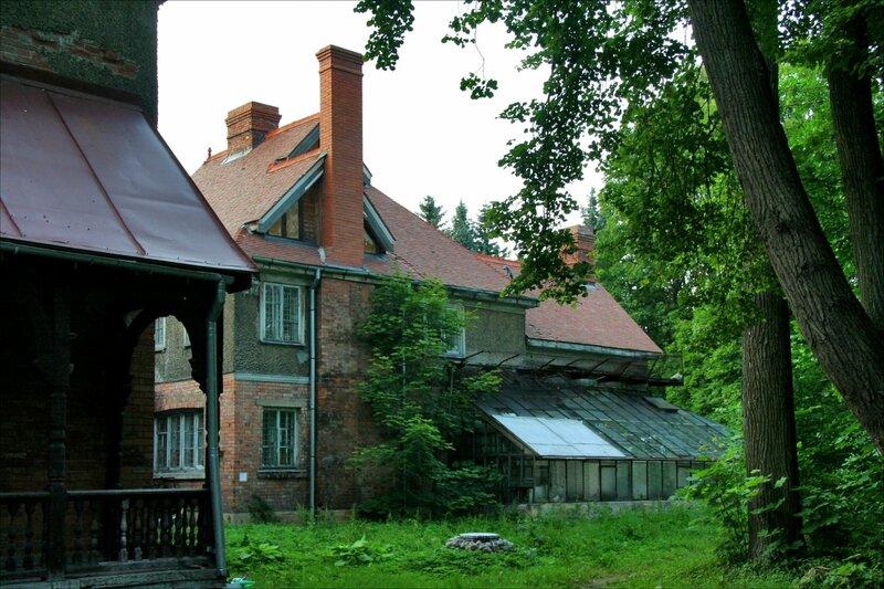 Дача великого князя Бориса Владимировича, Главный дом