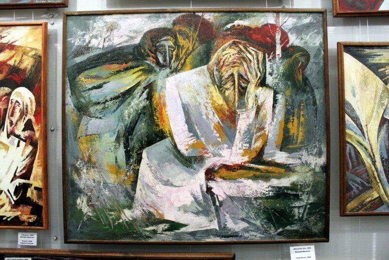 Голодомор в произведениях художников