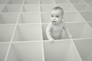 Опус 116435 (монохром, ребенок, ячейка)