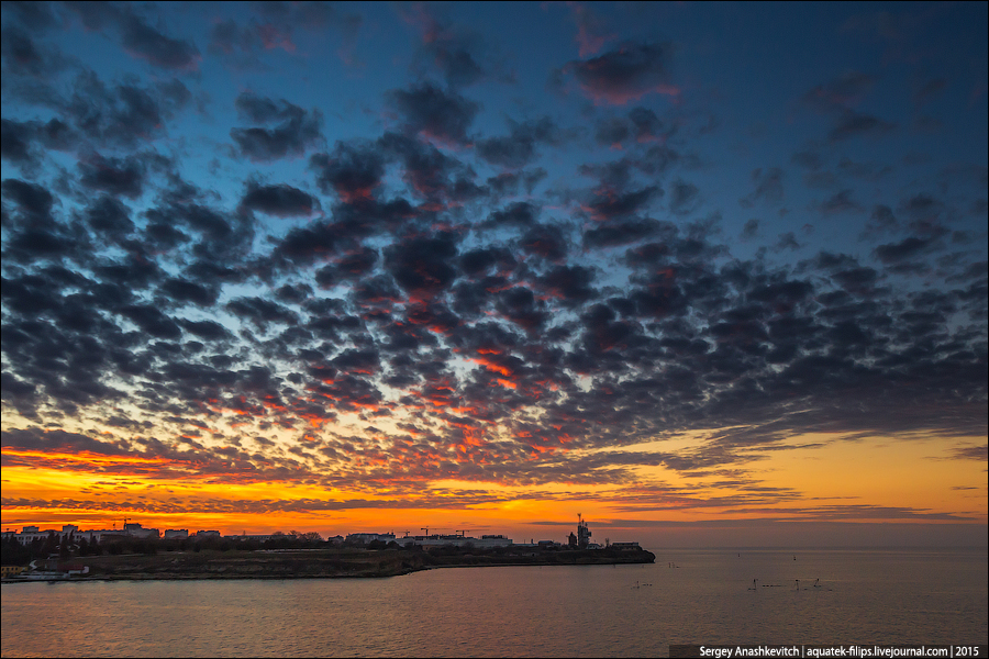 Закат в Херсонесе / Chersonesus Sunset