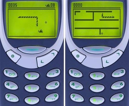 Игра Snake для Nokia
