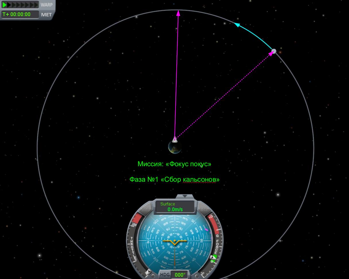 Kerbal Space Program: Учебный полёт на Мун
