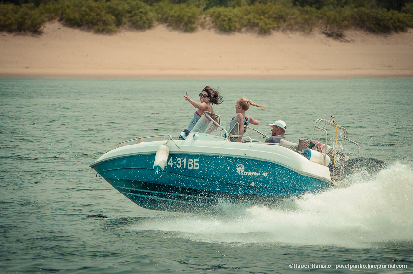 панько pavelpanko лодка катер Волга река поворот