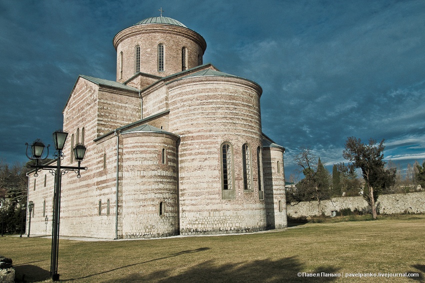 панько pavelpanko Пицунда храм собор