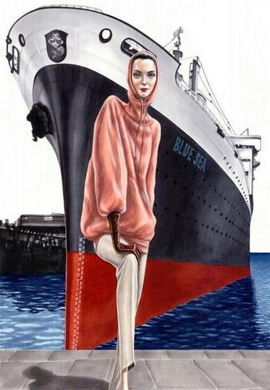 Arturo Elena - испанский художник. Девушка-модель