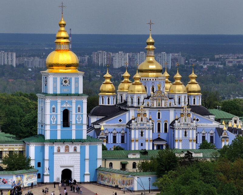 киев михайловский собор фото