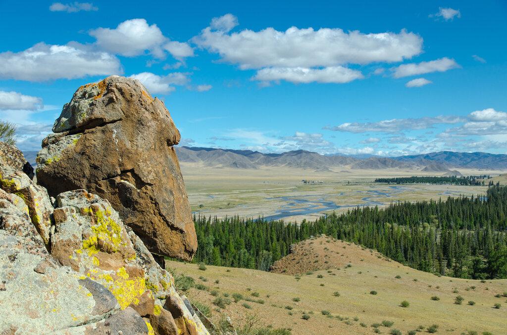 Долина реки Мурен, Монголия