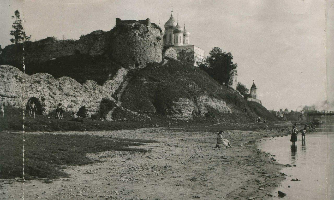 1930-е. Псковская крепость