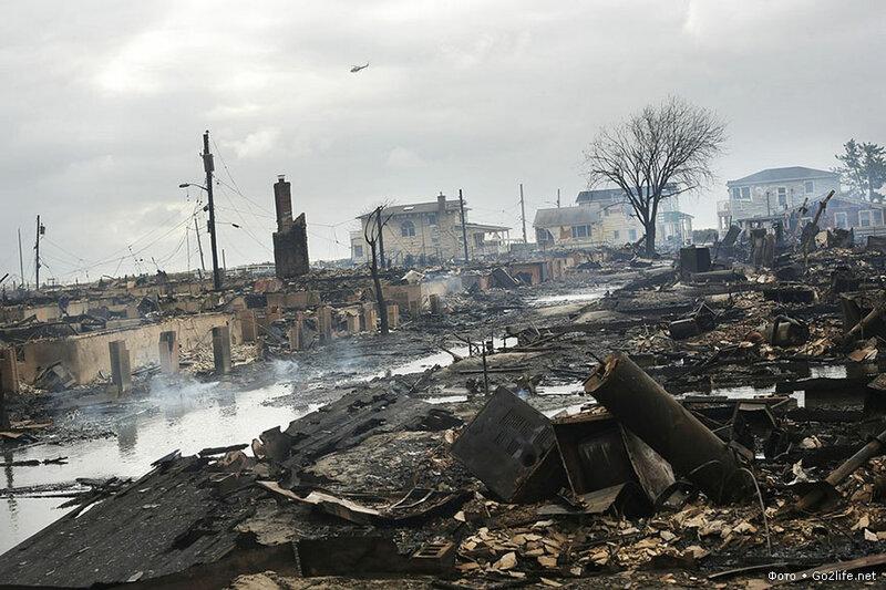 www.Go2life.net • Руины и хаос от урагана Сэнди в США
