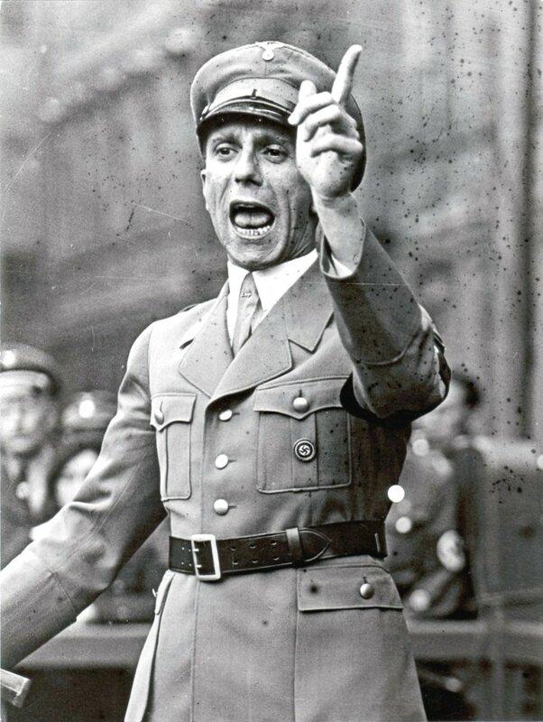 пропаганда Геббельса, идеология фашизма