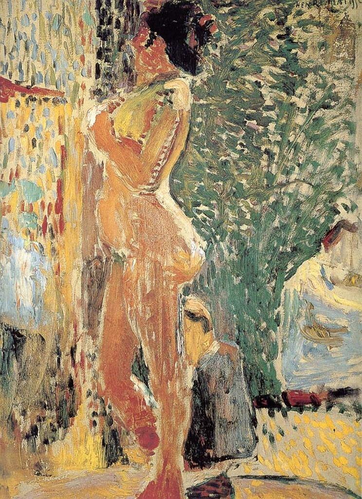 Этюд обнажённой , 1899, Анри Матисс,(1869-1954) Фовизм