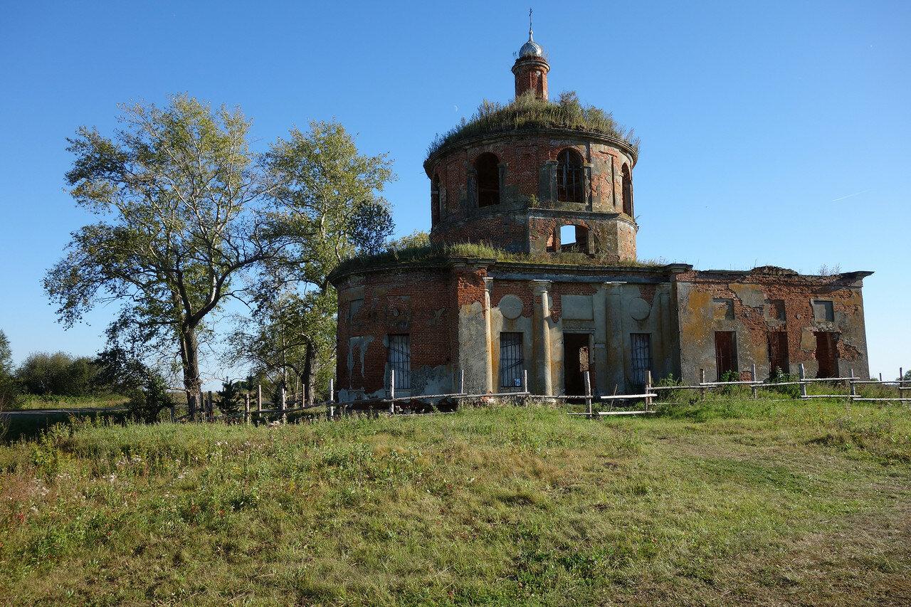 храм в бывшем Половнево