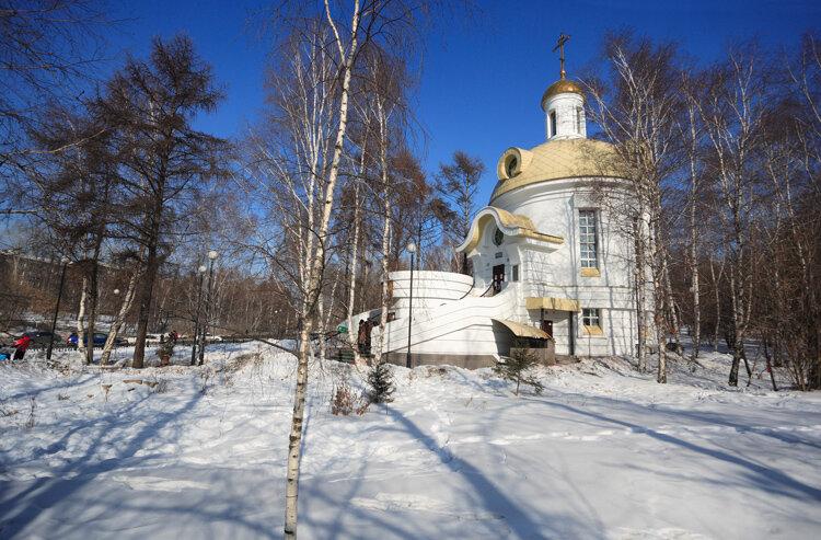 Храм Веры Надежды Любови матери их Софии Иркутск