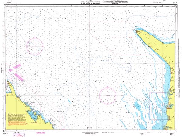 От мыса Святой Нос до мыса Канин Нос - морские навигационные карты на lenv.ru