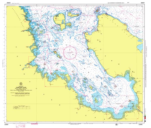 Онежский залив - морские навигационные карты на lenv.ru