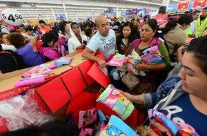 «Чёрная пятница» день массовых распродаж в США