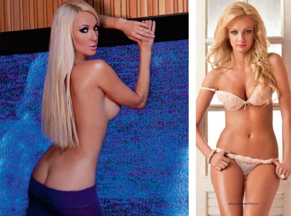 Лера Кудрявцева, Полина Максимова - 100 самых сексуальных женщин страны - Россия Maxim hot 100