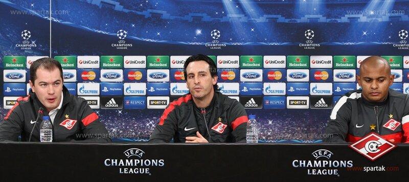 Пресс-конференция и тренировка «Спартака» в Лиссабоне (Фото)