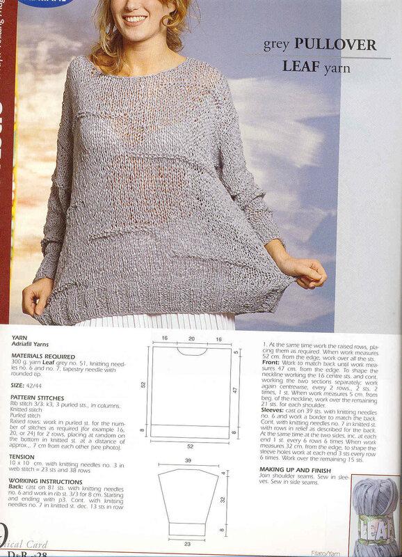 Итальянские модели для вязания