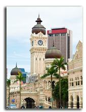 Малайзия. Куала-Лумпур. Площадь Независимости. Merdeka square in Kuala Lumpur, Malasia, Postnikov - Depositphotos