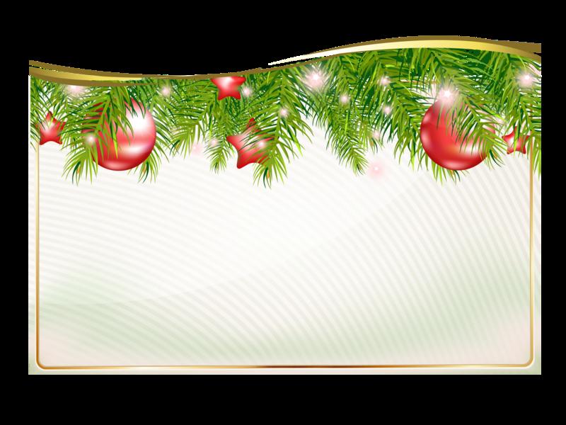 Клипарт открытка новогодняя