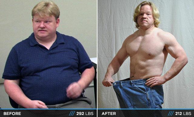 Похудевшие парни